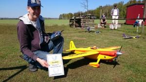 Lars Andersson vinnare deltävling 1